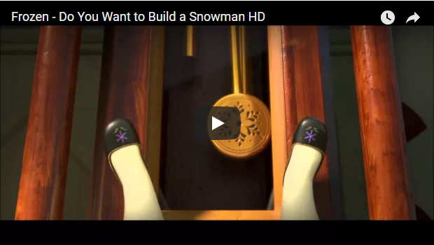 Frozen - Do You Want To Build A Snowman